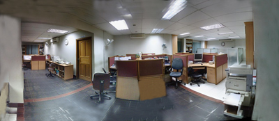 The inside-view of our office.